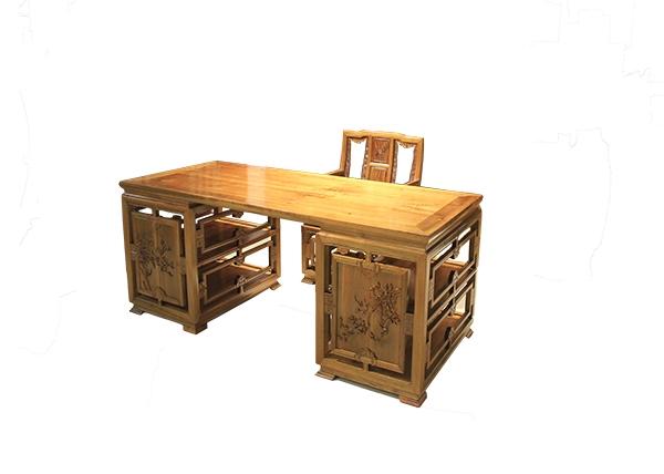 金丝楠木家具-书桌