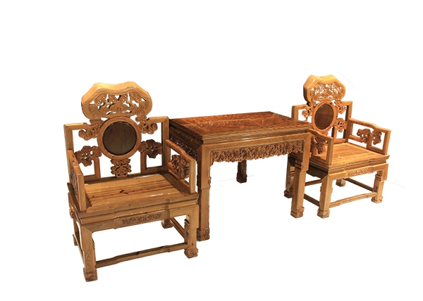 金丝楠木家具-双人桌