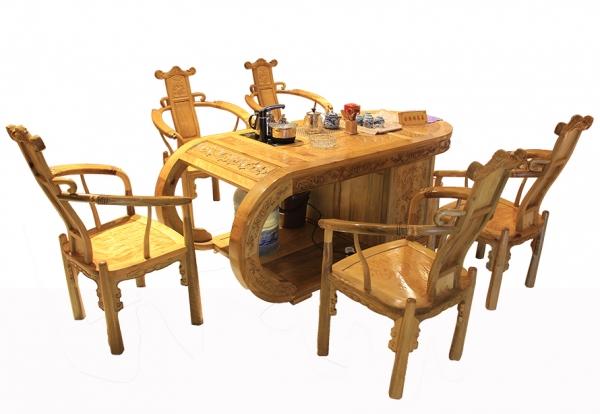 金丝楠木家具-五人桌
