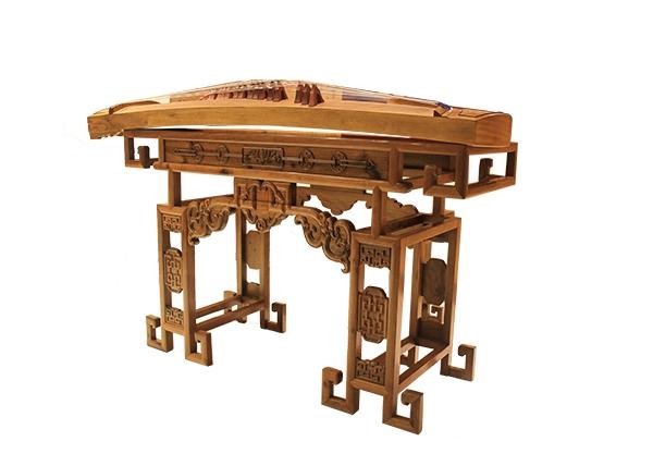 金丝楠木家具-琴架
