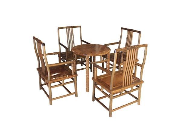 金丝楠木家具-四人桌