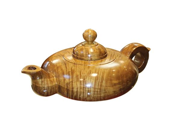 金丝楠木艺术品-水壶