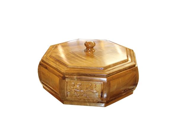 金丝楠木艺术品-多边盒