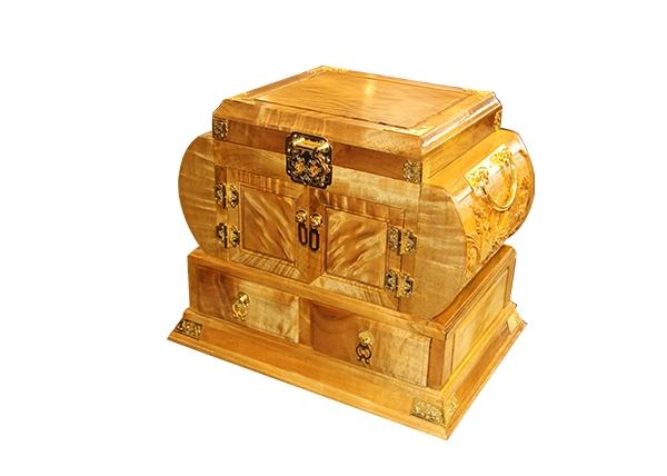 金丝楠木艺术品-首饰盒