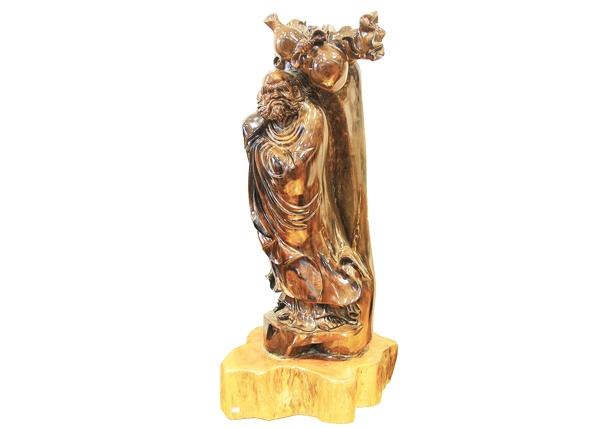 金丝楠木工艺品-达摩葫芦