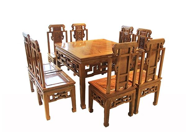 金丝楠木家具-八人桌