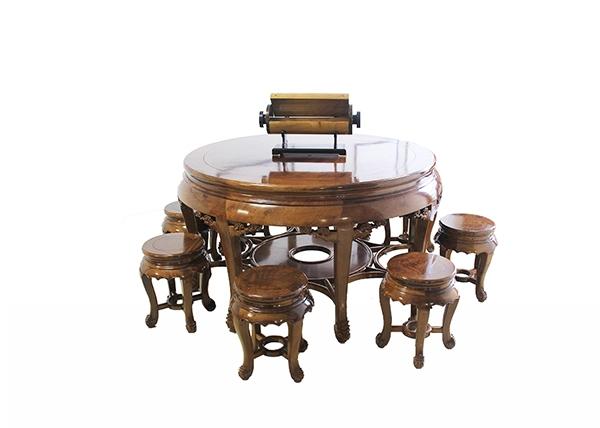 金丝楠木家具-大圆桌