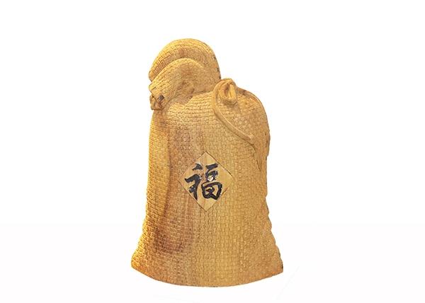 金丝楠木艺术品-福袋