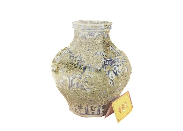 金丝楠木工艺品-海捞瓷