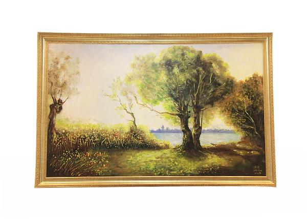 金丝楠木艺术品-挂画